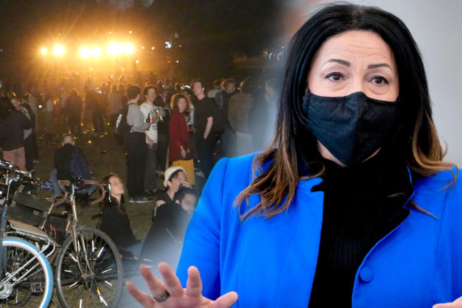 Tausende feiern trotz Corona in Berliner Park: Senatorin rechnet mit Konsequenzen!