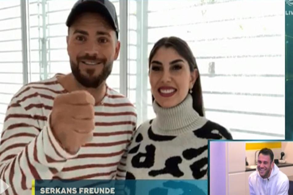 Für Serkan gab es sogar Grüße von Johannes und Yeliz!