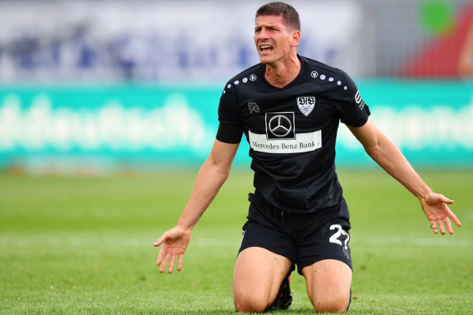 Beendet seine Karriere nach dieser Saison beim VfB Stuttgart: Mario Gomez (34).