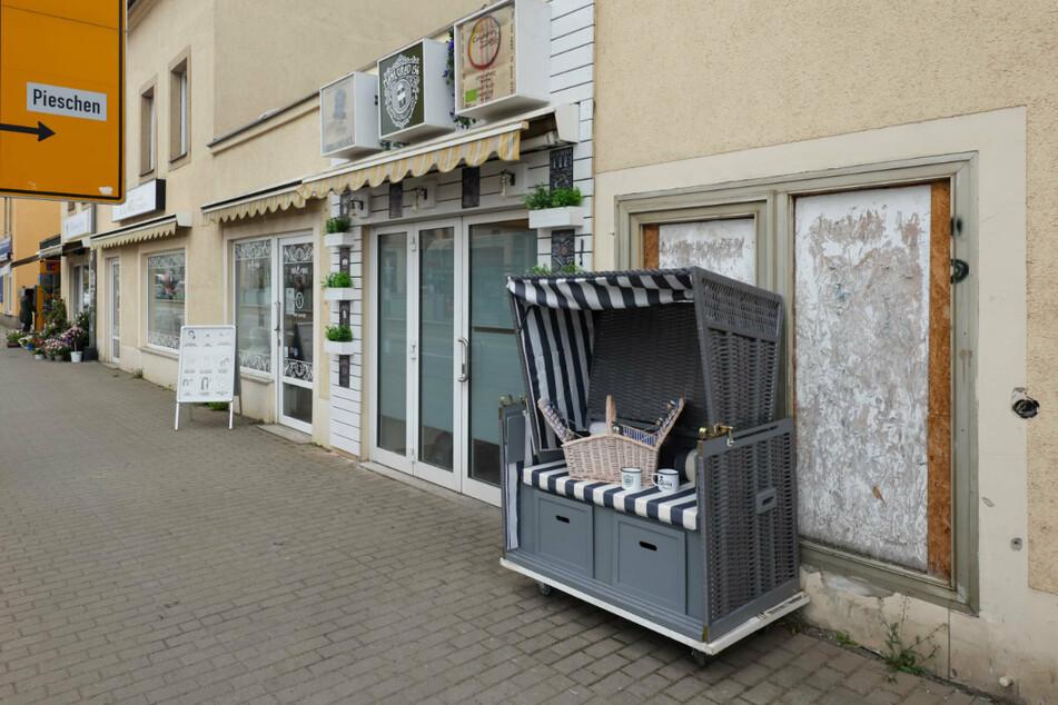 Neue Gastronomie für Pieschen: Direkt an der Leipziger Straße beim Bahnhof Mickten eröffnet bald ein To-Go-Café.