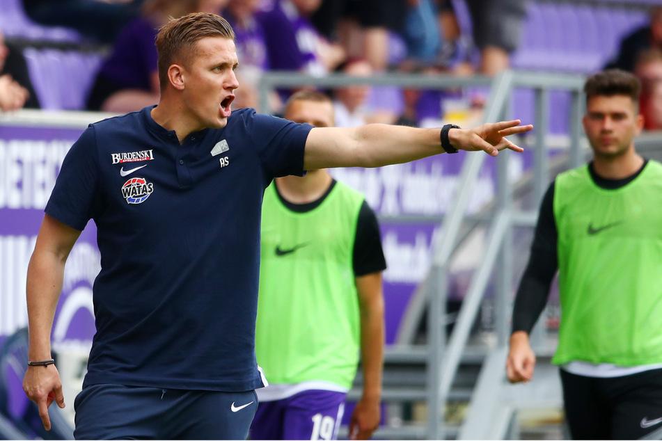 Der neue Aue-Trainer Aleksey Shpilevski und seine Philosophie stoßen nicht bei allen Anhängern auf Zustimmung.