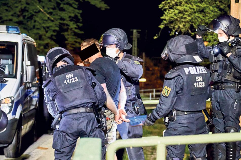 Hier verhaftet die Polizei Ex-SSS-Mitglieder