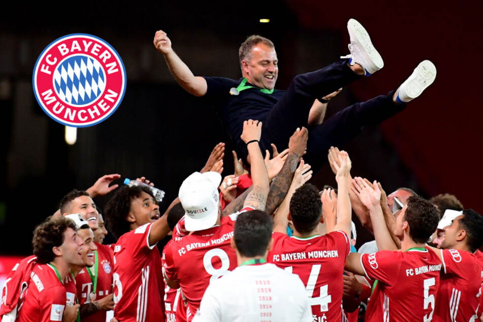 FC Bayern feiert Geister-Double: Hansi Flick will um Alaba und Thiago kämpfen