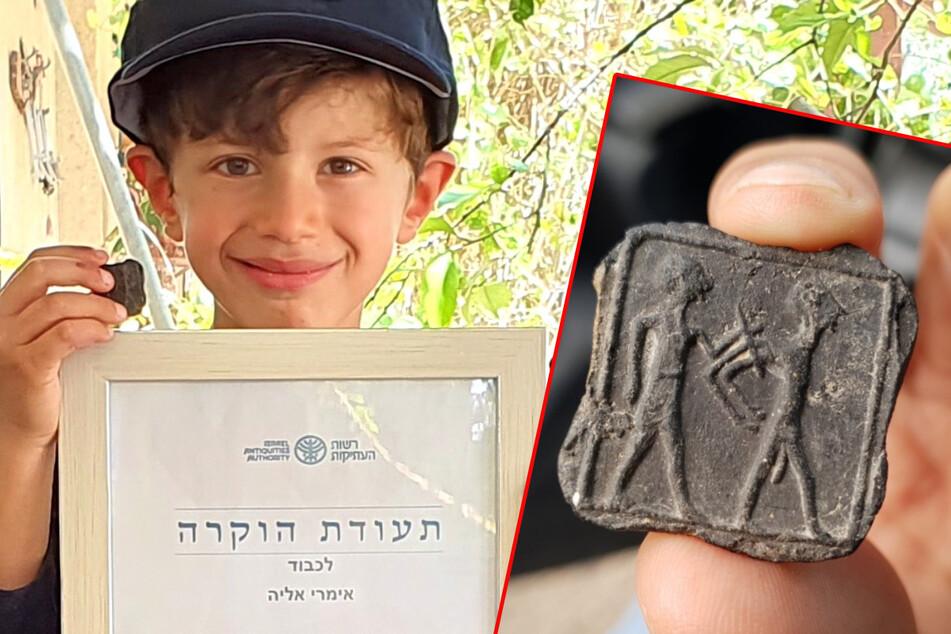 Sechsjähriger macht in Israel Sensations-Fund