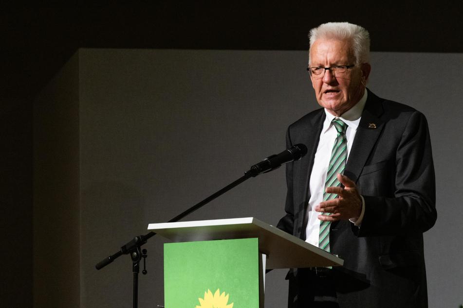 """Baden-Württembergs Ministerpräsident Winfried Kretschmann (73, Grüne) sieht im Haushaltsentwurf für 2022 einen """"seriösen Umgang mit den Finanzen und mit den Steuergeldern des Bürgers."""""""
