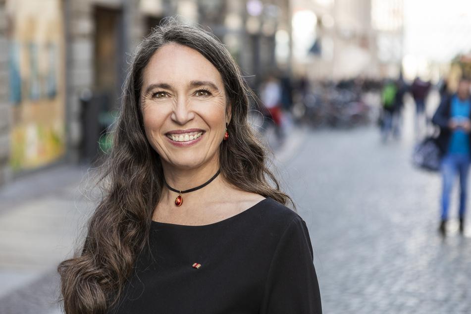 Die Leipziger Frauenrechtlerin Inge Bell (53).