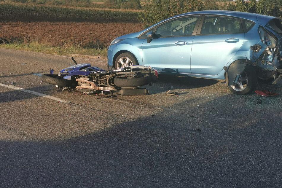 Der Gesamtschaden bei dem Unfall wurde auf 25.000 Euro geschätzt.