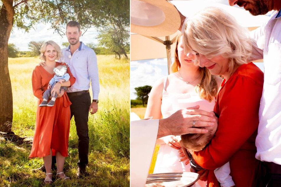 Bauer sucht Frau: Anna Heiser strahlend schön bei Babytaufe! Doch wie heißt ihr Sohn?