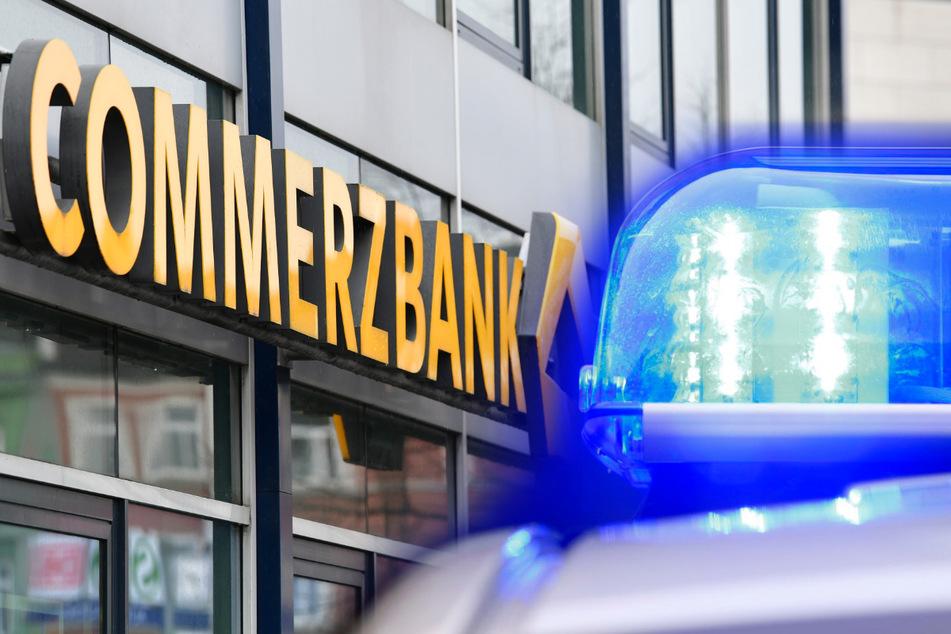 Ein 38 Jahre alter Mann soll versucht haben, zwei Filialen der Commerzbank innerhalb von zwei Stunden zu überfallen. (Symbolbild)