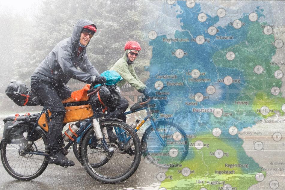 Eisheilige geben Einstand mit Schnee: Mit Nachtfrost müsst Ihr rechnen