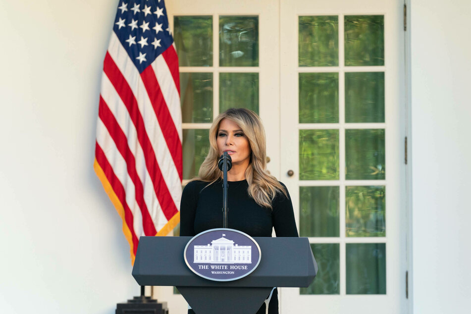 Melania Trump (50) currently has an approval rating of only 42%.
