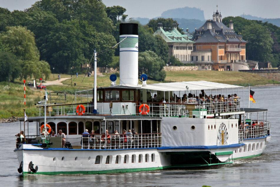 Die Fahrt nach Pillnitz ist für die Weiße Flotte seit Jahren die wichtigste Tour.