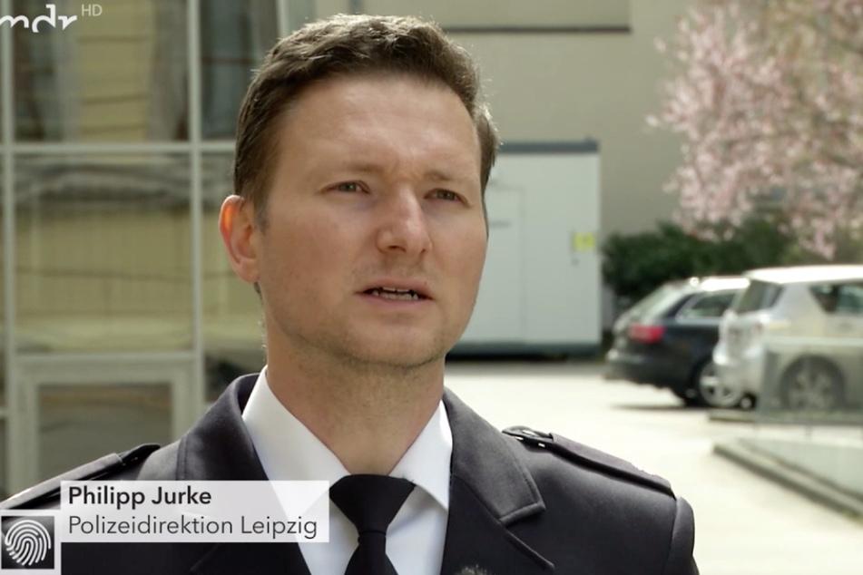 """Polizeisprecher Philipp Jurke sprach in der MDR-Sendung """"Kripo Live"""" über die Supermarkt-Diebstähle in und um Leipzig."""