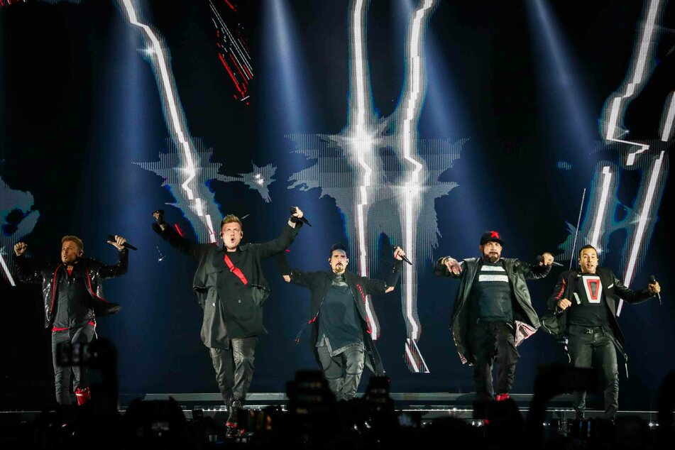 It's 2020, and the Backstreet Boys are still performing.