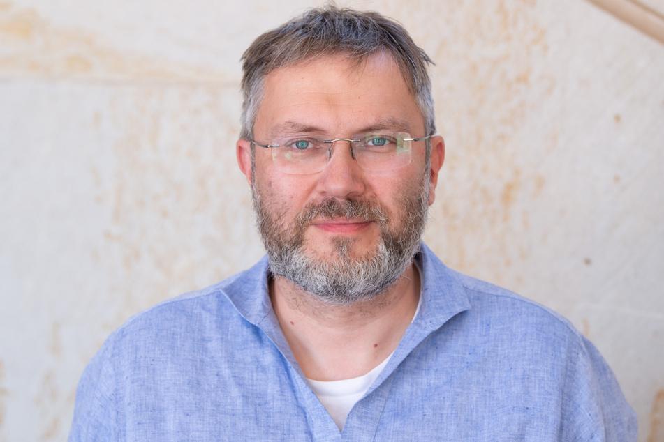 """Zwingerbaumeister Kai-Uwe Berger: """"Der Zwinger ist eine ewige Baustelle, es gibt immer etwas zu tun."""""""