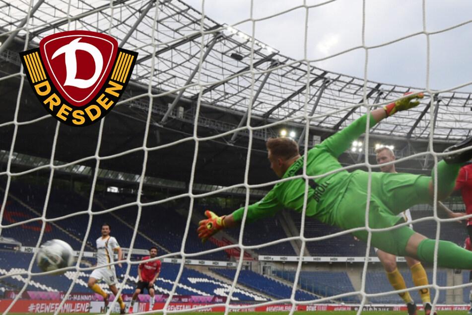 Dynamo verliert deutlich in Hannover: Nach 17 Minuten war alles entschieden