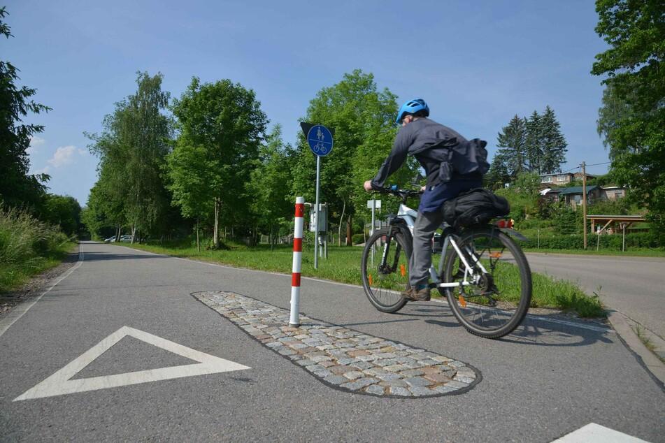 Hier am Chemnitztal-Radweg sollen schon bald Radfahrer und andere Besucher entspannen und genießen.