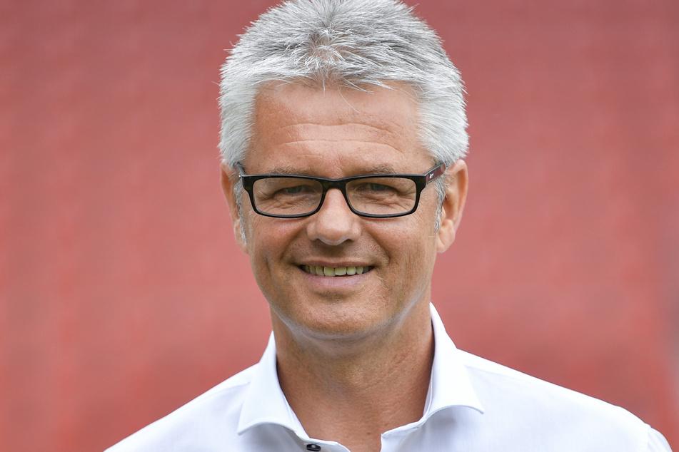 Sportdirektor Ralf Heskamp (54) vom Halleschen FC. (Archivbild)