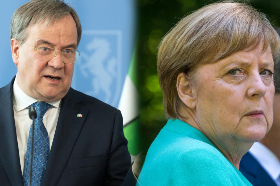 "Kritik an Merkel-Besuch in NRW: ""krampfhafter Versuch Armin Laschets"""