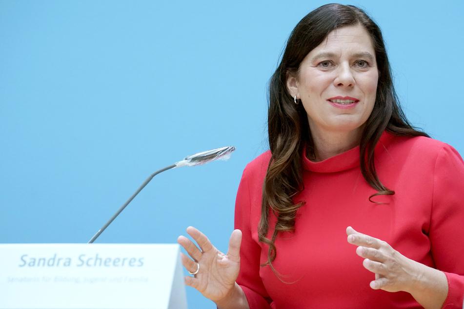 Sandra Scheeres (SPD), Bildungssenatorin.