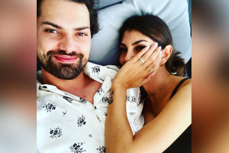 Jimi und Yeliz freuen sich auf ihre gemeinsame Wohnung.
