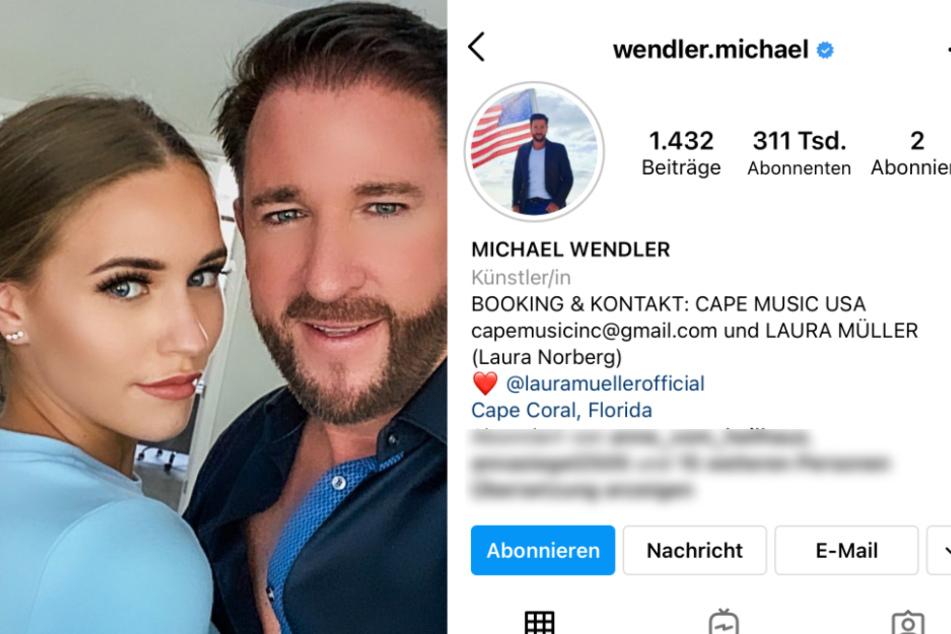 """Auf Instagram führt Michael Wendler jetzt die Firma """"Cape Music USA"""" als Ansprechpartner an."""