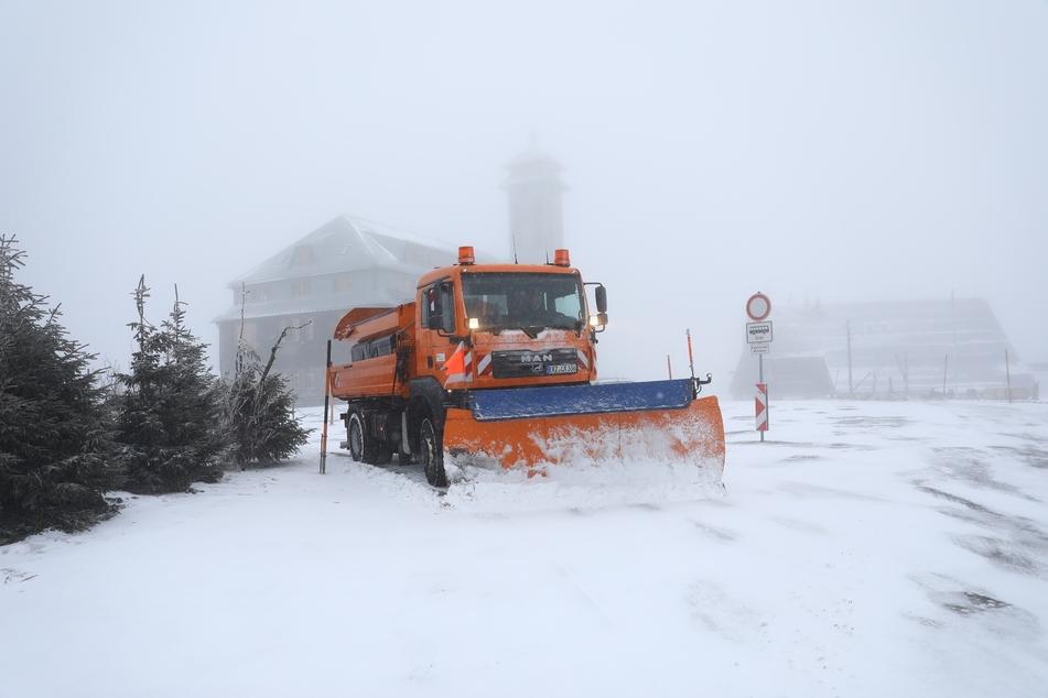In Sachsen hat sich der Winter zurück gemeldet!