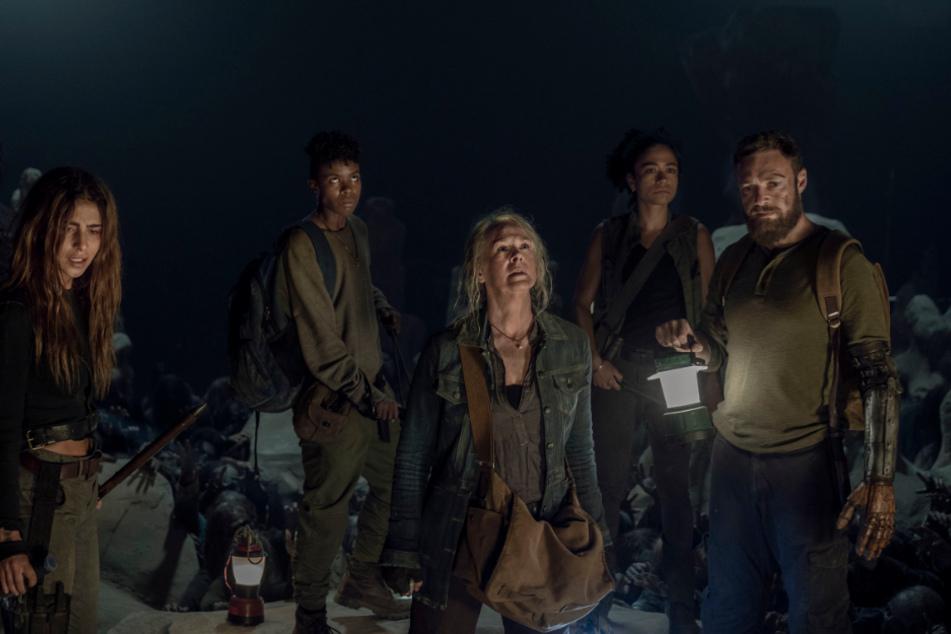 """Die Erfolgsserie """"The Walking Dead"""" läuft mittlerweile in der zehnten Staffel."""