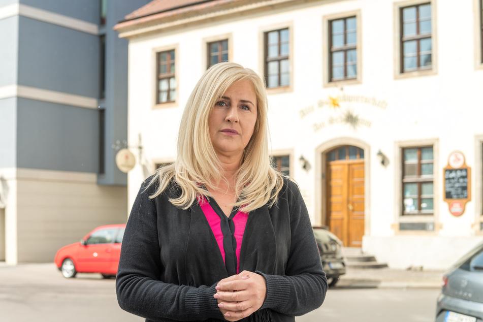 """""""Schießhaus""""-Wirtin Ute Stöhr (50) will am Freitag mit Kollegen aus ganz Sachsen in Dresden eine Petition übergeben."""
