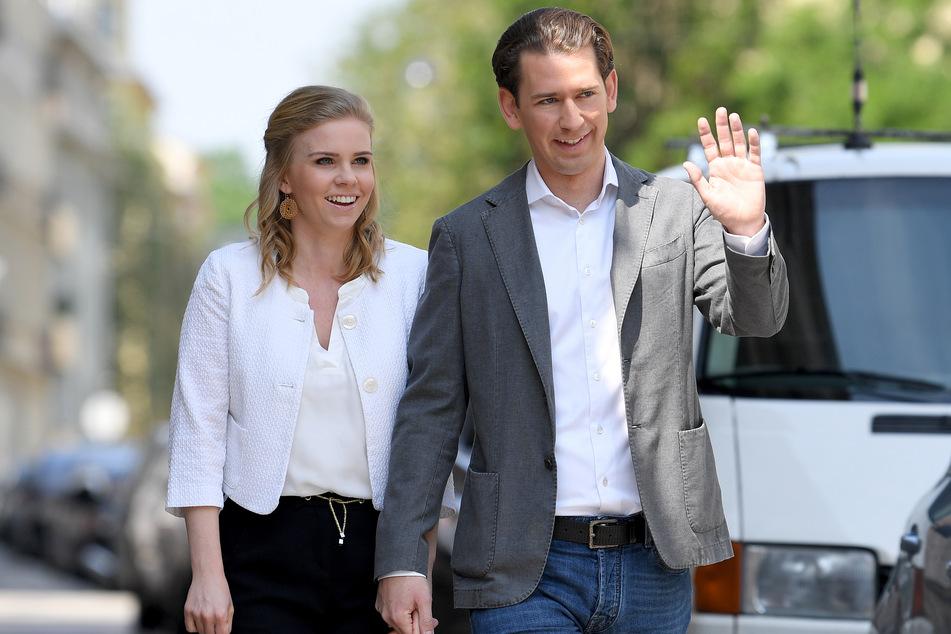 Sebastian Kurz (34) und Susanne Thier (35) werden Eltern.