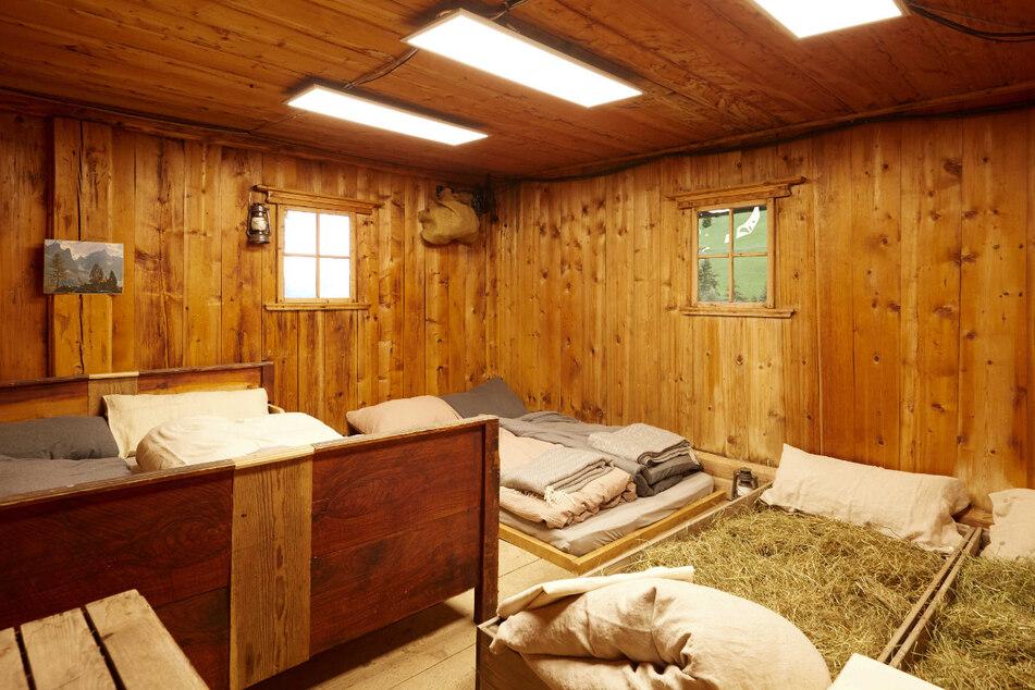 Alm-Traum oder Albtraum? So hausen die Promis auf der Berghütte.