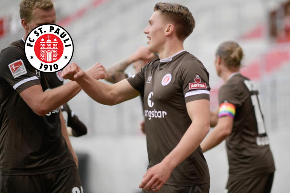 FC St. Pauli mit Glück: 1:0 gegen Nürnberg in Überzahl
