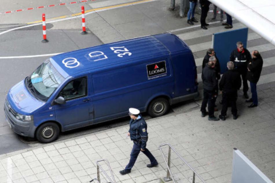 Im März 2019 wurde ein Geldtransporter am Köln/Bonner Flughafen überfallen.