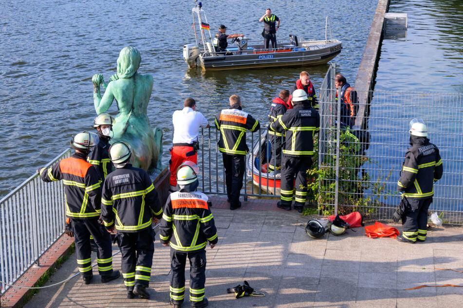 Hamburg: Leichenfund im Stadtparksee gibt der Polizei Rätsel auf
