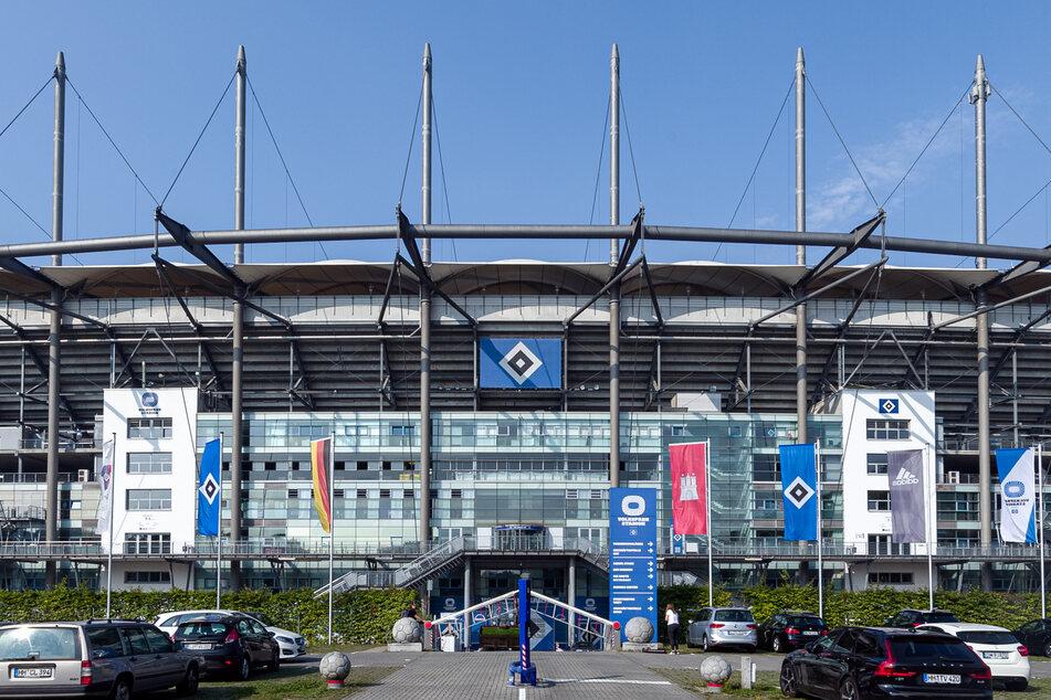 Das HSV-Volksparkstadion im Hamburger Stadtteil Stellingen.