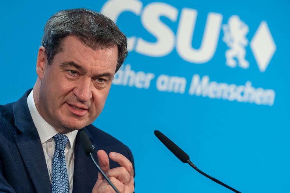 Markus Söder (CSU), Ministerpräsident von Bayern und CSU-Parteivorsitzender.