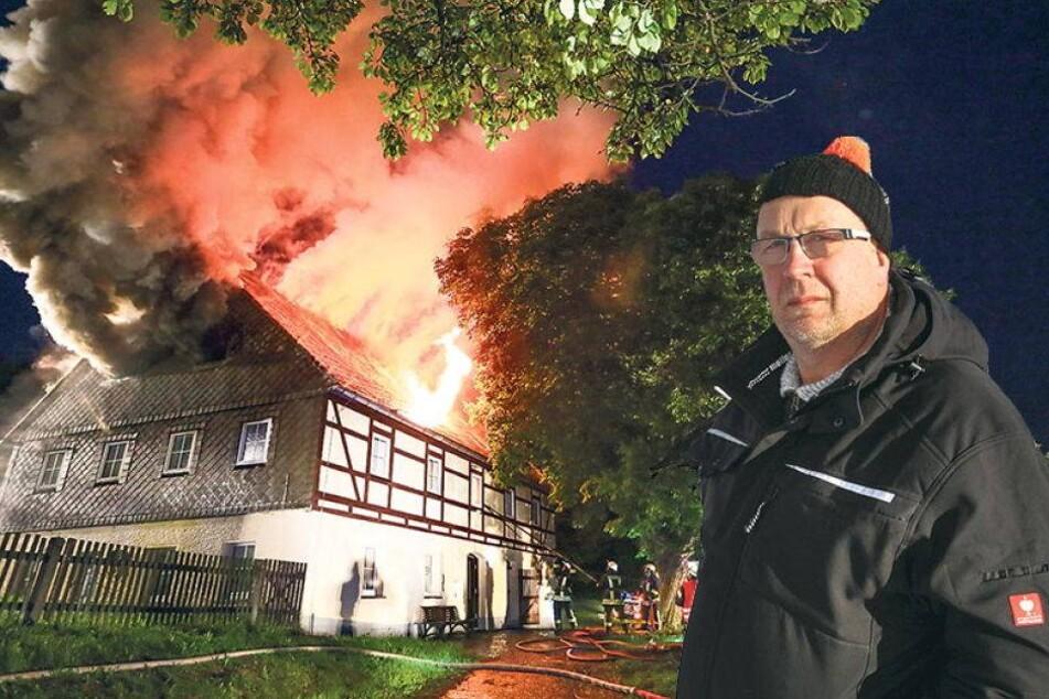 Nach Brandstiftung: Ich baue mein Elternhaus wieder auf!