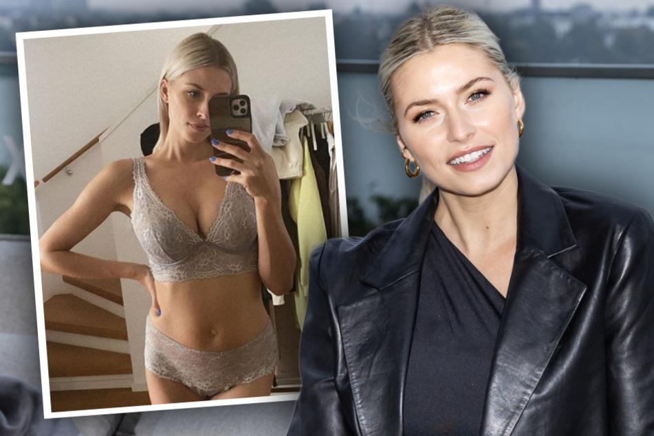 Traumkörper in sexy Dessous: Lena Gercke stellt Follower vor schwierige Wahl