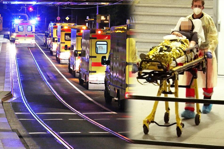 Einsatz mit acht Krankenwagen am S-Bahnhof: Was war los in Strehlen?