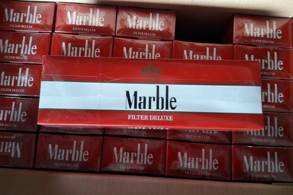 Fast vier Millionen Zigaretten gingen den Fahndern ins Netz.