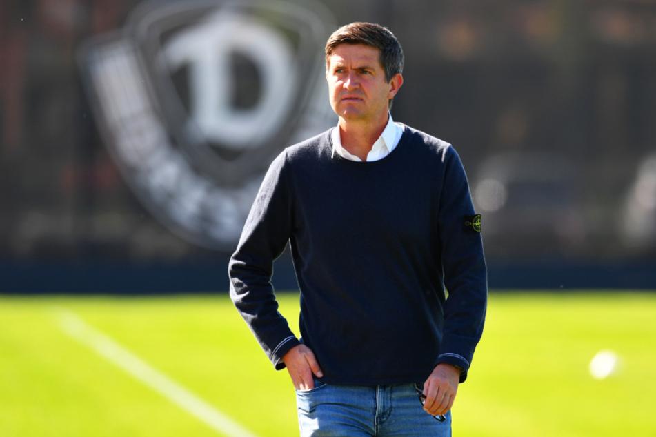 Ralf Becker ist seit 1. Juli Sportgeschäftsführer der Dynamos. Am Montag erlebt er seine Pflichtspiel-Premiere bei den Schwarz-Gelben - und das ausgerechnet gegen seinen Ex-Verein Hamburger SV.