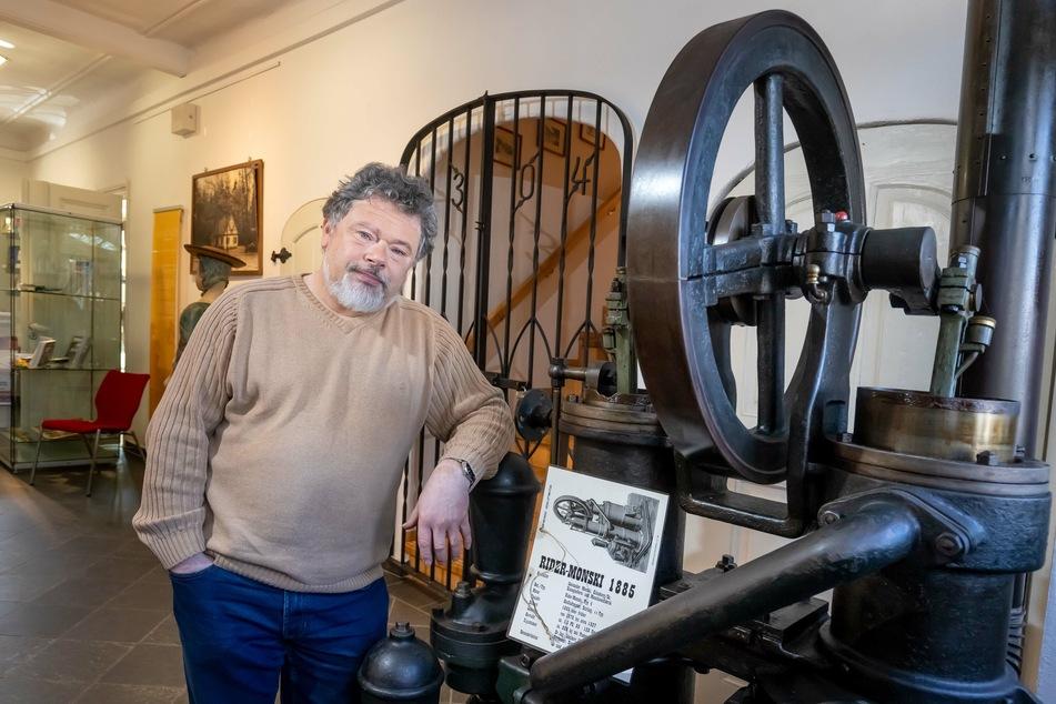 Museums-Chef Hans-Jürgen Beier (63) hängt nach fast 28 Jahren seinen Job an den Nagel.