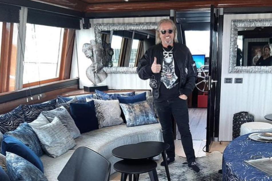 In Italien: Robert Geiss gönnt sich Check-up auf seiner Yacht
