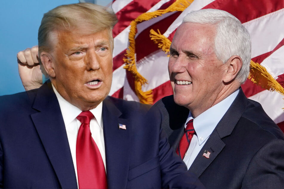 Pence stellt Trump bloß: US-Vize schwänzt Donald-Abschied und geht nur zur Biden-Einführung