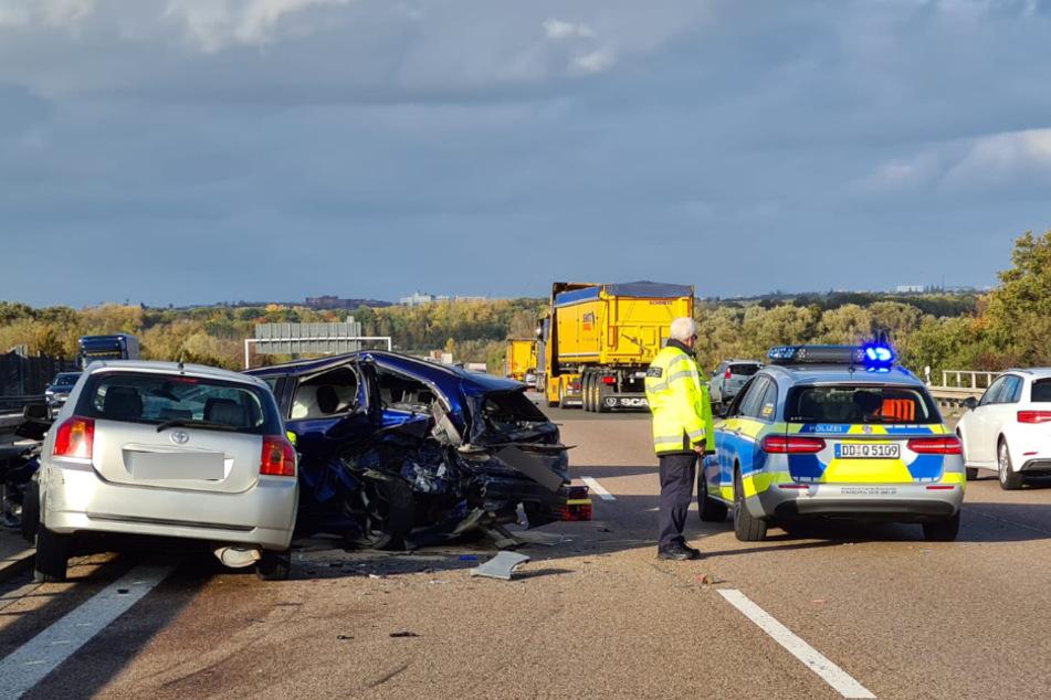 Der Verkehr konnte an der Unfallstelle vorbeigeleitet werden.