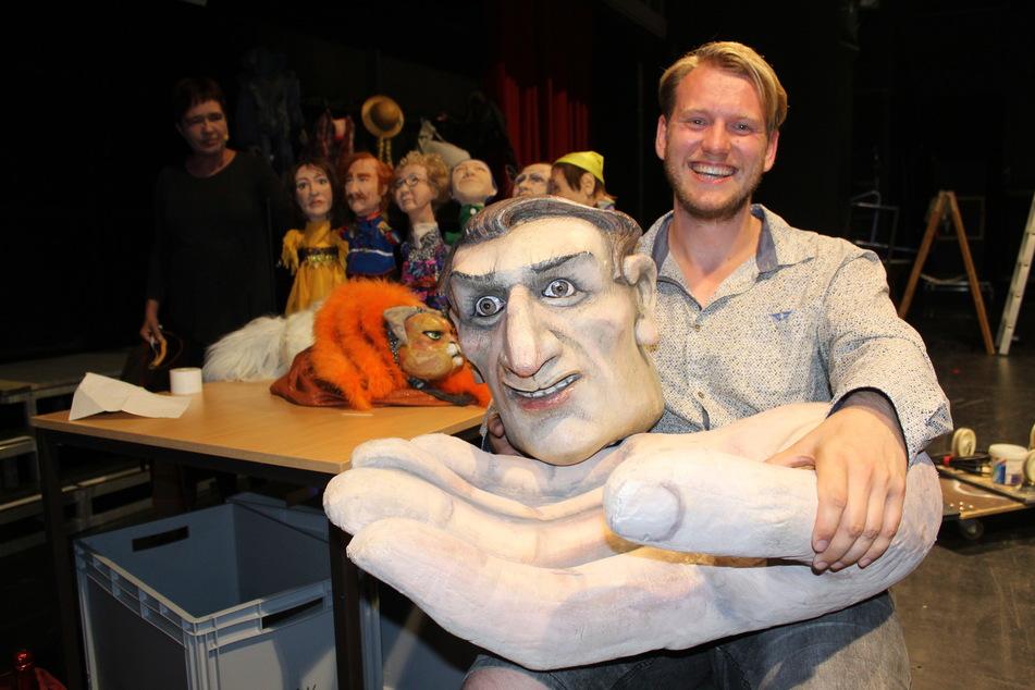 Stephan Siegfried, Spartenleiter des Puppentheaters und Regisseur, zum 60-jährigen Bestehen des Puppentheaters in Bautzen.