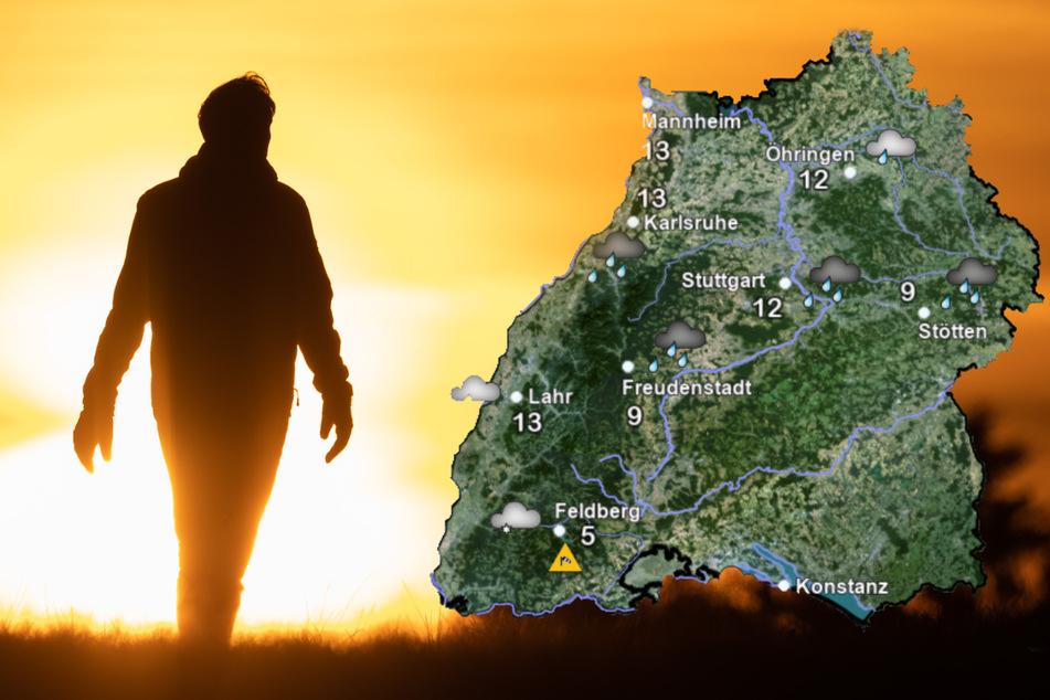 Mit Sonne werden am Freitag vor allem die Menschen im Süden verwöhnt. (Montage)