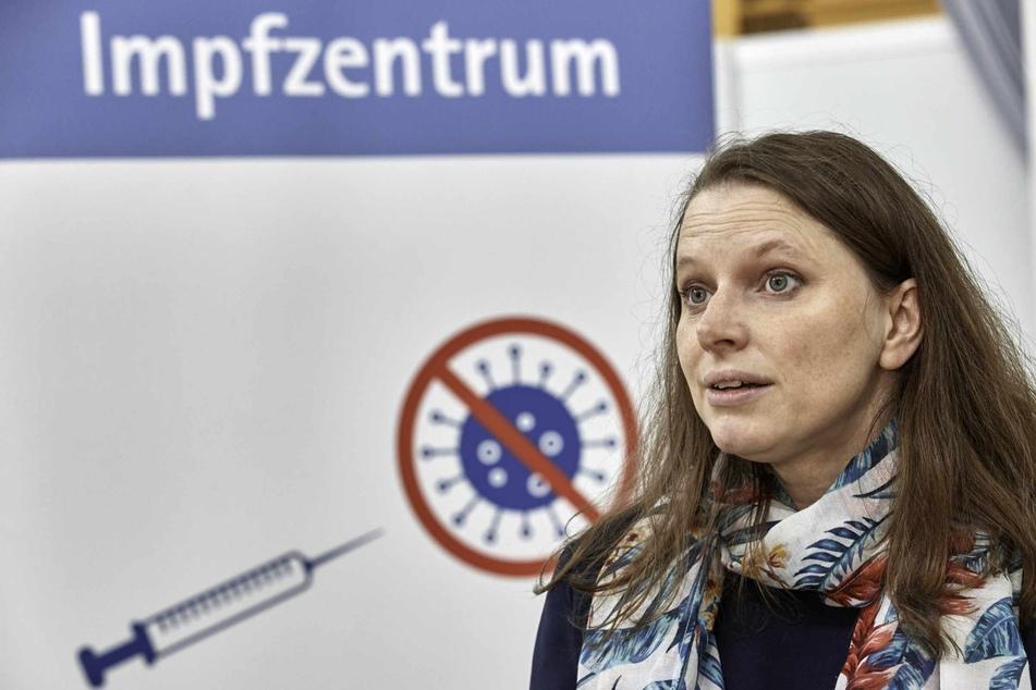 Melanie Leonhard (44, SPD), Senatorin für Arbeit, Gesundheit, Soziales, Familie und Integration, appelliert vor allem an jüngere Menschen sich impfen zu lassen.