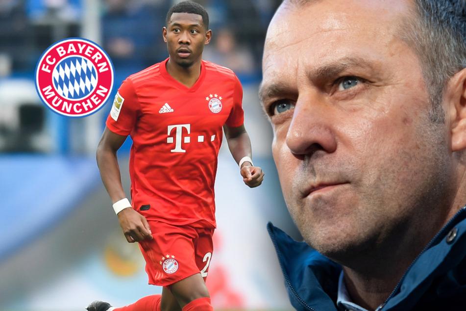 FC Bayern vor Meisterschaft: Hansi Flicks Titel-Schachzug mit David Alaba