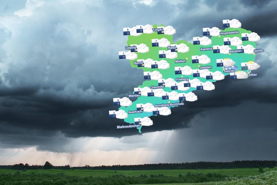 Regenschirme raus! Sonne-Wolken-Mix zieht über Sachsen auf